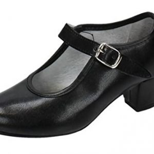 Zapatos de sevillana de iniciacion adulta y niña.