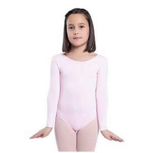 Maillot ballet manga larga Happy Dance confeccionado en tejido de poliamida , un basico que no puede faltarte en invierno para tus ensayos.