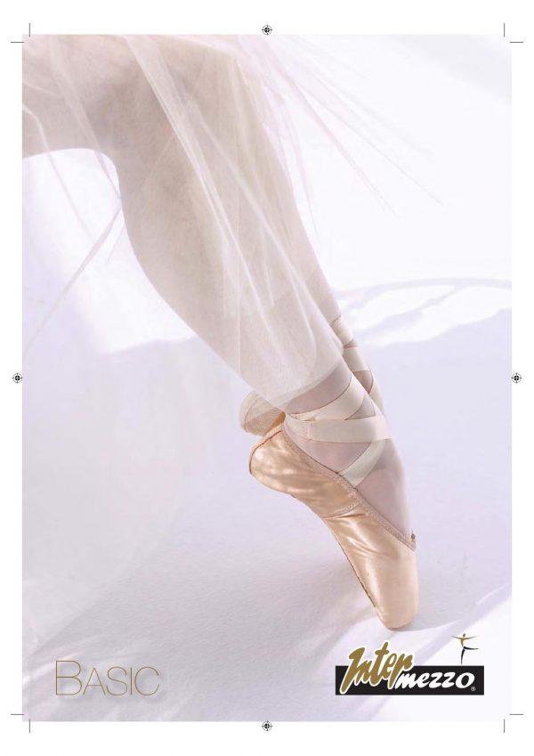 Puntas de ballet Intermezzo 7265 con ancho y dureza media para mayor comodidad tanto para personas que se inician como avanzadas.