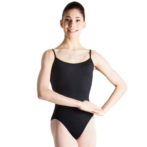Maillot de tirante fino en tejido poliamida , un basico que no puede faltar en tu vestuario de baile.