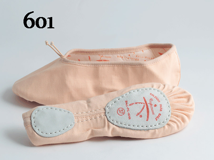 Zapatillas de ballet de tela Ball pilmar