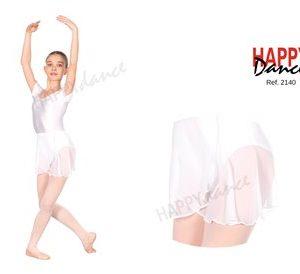 Falda de clásico en gasa Happy Dance 2141
