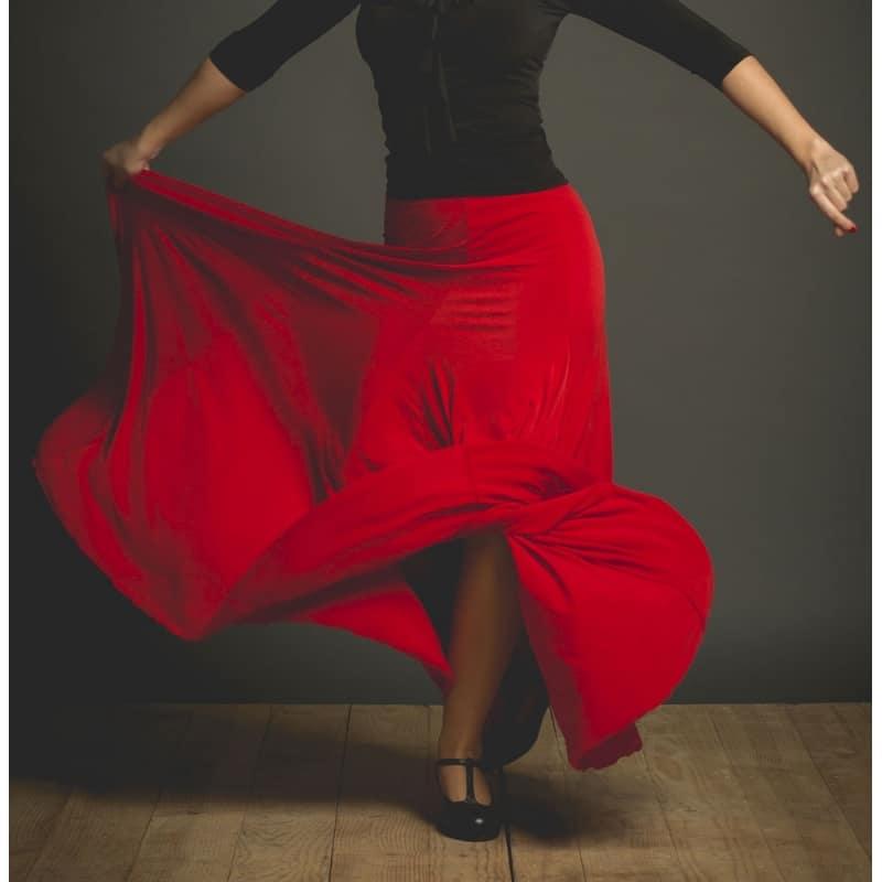 Falda de baile flamenco Davedans Modelo Cala