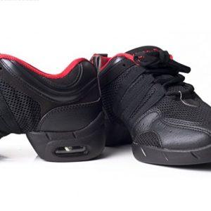 Sneakers camara de aire de Happy Dance con la suela dividida y puntera cuadrada para que tus movimientos sean elásticos y seguros