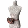 Bolso rociero piel bandolera o cinturón