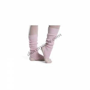 Calentadores niña de lana acrilica Intermezzo que podrás sujetar en el empeine y asi calentarás tambien tu tobillo en tus ensayos.