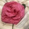 Flor flamenca en tela perforada 54748.