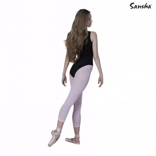 Medias de color para baile con el pie descubierto con la que podrás bailar descalza o con deportivas