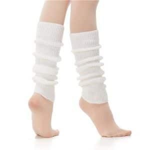 Calentador ballet para danza de lana acrilica sin talonera