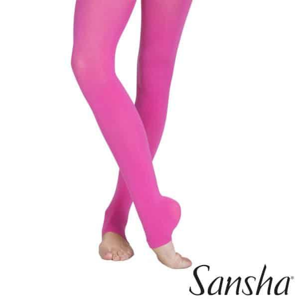 Medias de color para baile Sansha