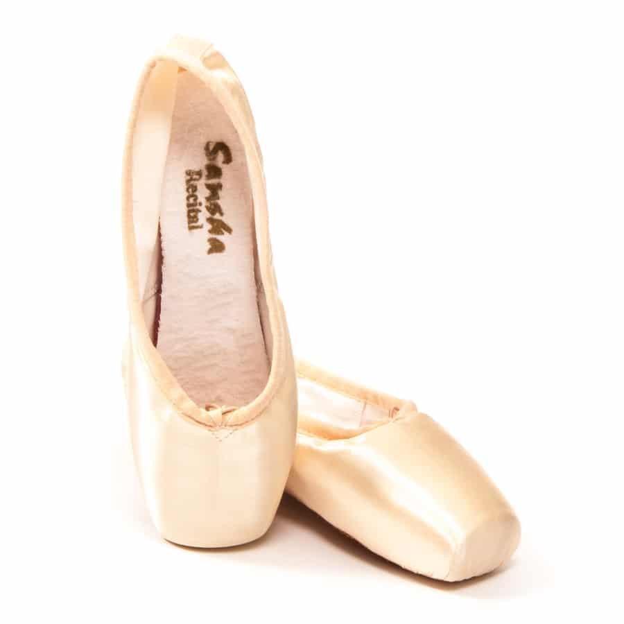 Puntas para ballet Sansha modelo Recital II