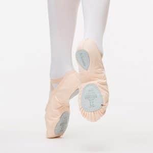 Zapatillas de ballet Sansha Silhouette piel