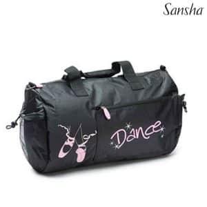 Bolsa ballet niña Dance en dos colores de Sansha muy amplio donde podrás llevar todas tus cosas para ensayos o de viaje con tantos apartados como necesitas