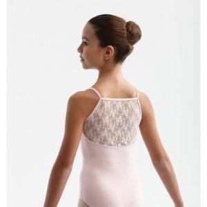 Maillot ballet niña Intermezzo con encaje 31312.