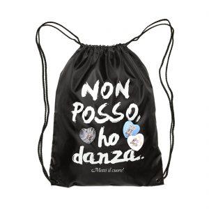 Bolsa para ballet en raso Non Posso Ho Danza