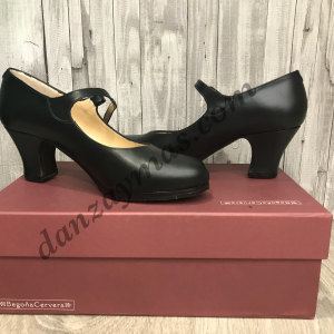 Zapatos de flamenco profesionales Begoña Cervera Correa.