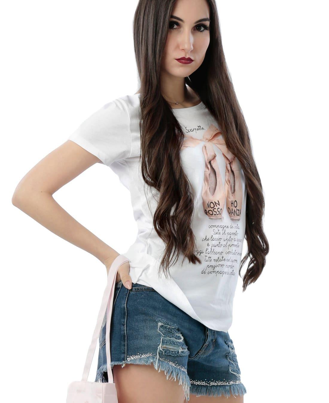 Camiseta ballet manga corta Non Posso
