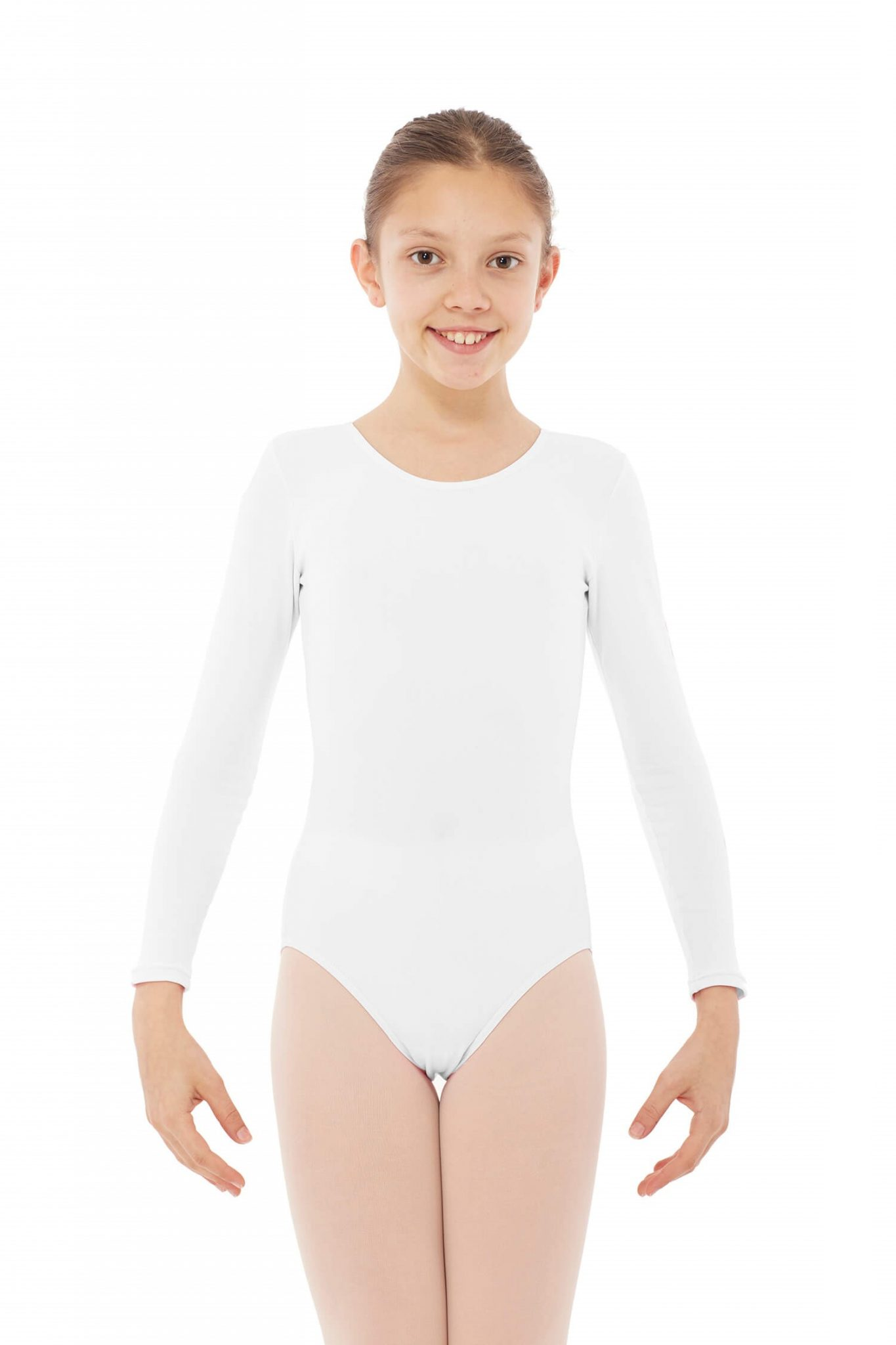 Maillot de baile manga larga blanco 3010 Bl
