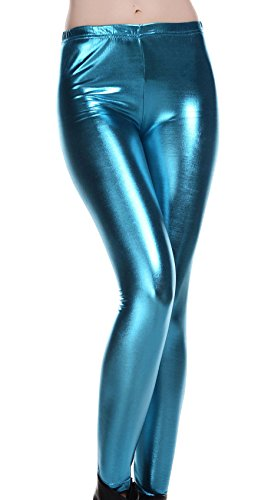 Mallas metalizadas para disfraz de fantasía