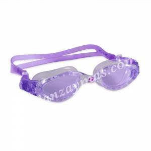 Gafas de piscina adulto de silicona con doble cinta de en la parte trasera para mayor sujeción y protección ultravioleta.
