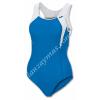 Bañadores natación mujer marca Joma en licra con escote alto y espalda nadador para mayor confort en tus entrenamientos.