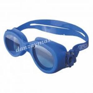 Gafas de natación en silicona suave para mayor adaptabilidad con proteccion UVA y anti rasguños, incluye funda de transporte.