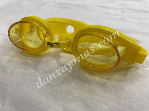 Gafas de natación niños en silicona suave para la piel de los mas peques, con puente adaptable protección UVA y doble banda trasera
