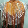 Flecos de flamenca largos