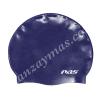 Gorro de natacion fabricado en silicona hipoalergenica y lleva grabado interior para evitar su desplazamiento,es de alta elasticidad.