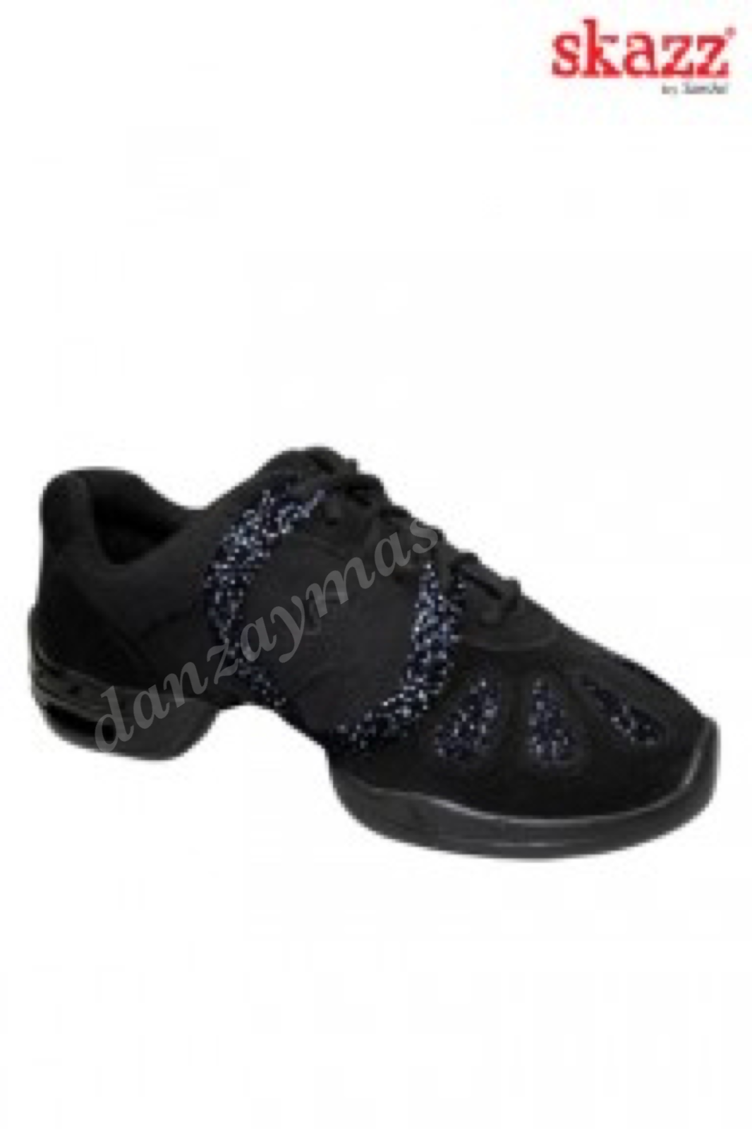 Sneakers baile Sansha con brillos 168