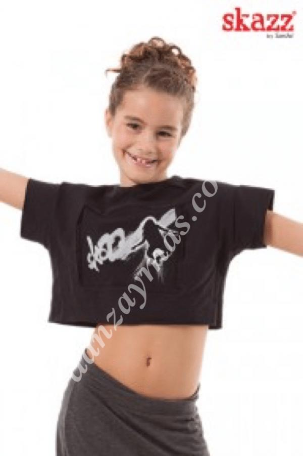 Camiseta baile moderno Sansha