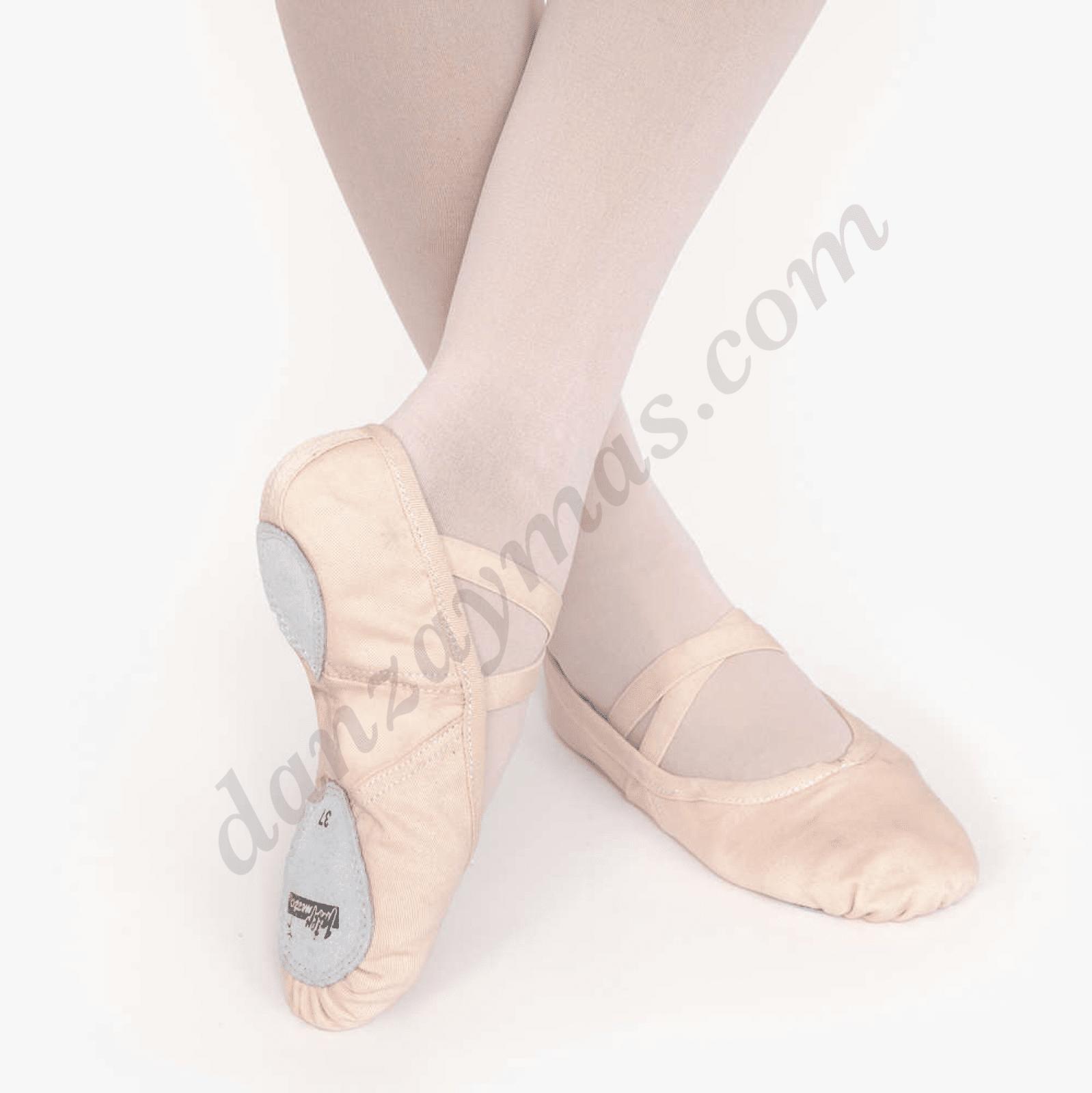 Zapatillas de ballet Intermezzo en tela 7213