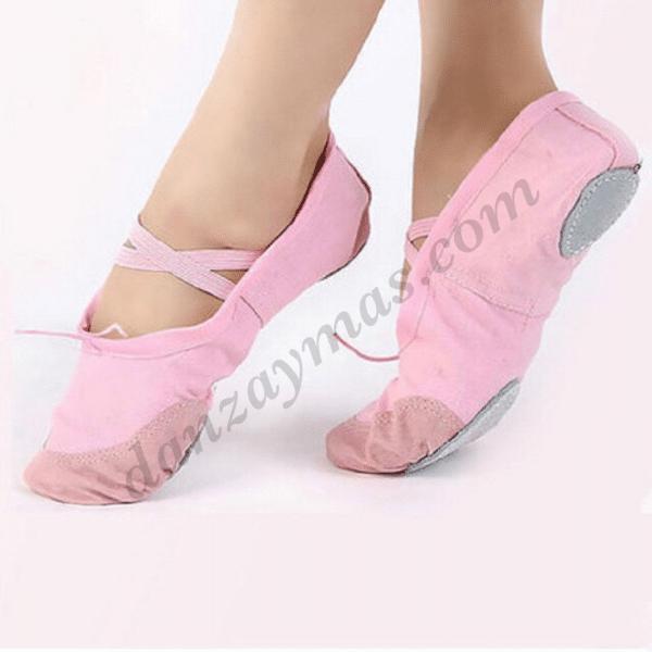Zapatillas de ballet de importación en varios colores.