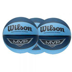 Balón baloncesto Wilson fabricado en goma para facilitar el agarre de 76cm