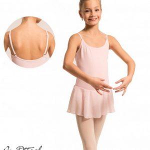 Maillot ballet con falda de gasa Dansez-Vous