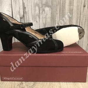 Zapatos de flamenca profesional Arco de Begoña Cervera