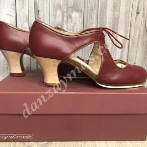 Zapatos de flamenco Begoña Cervera Escote