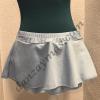 Falda ballet niña confeccionada en tejido de punto elástico en color celeste