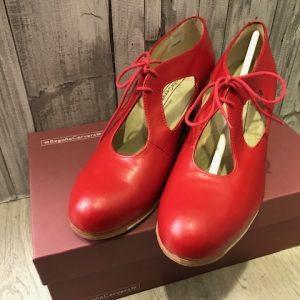 Zapatos de flamenca Cuatro Vientos de Begoña Cervera
