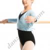 Chaqueta para ballet cruzada manga larga