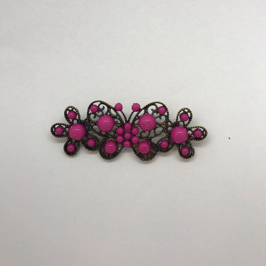 Broche flamenco mariposa 1011