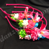 Diademas de flores para niña pensada para cualquier acontecimiento o para usar con tu traje regional murciano