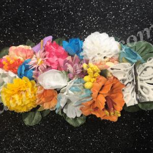 Tocados de flores para el pelo