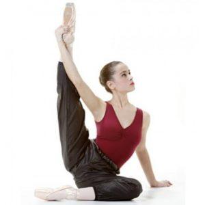 Pantalón ballet largo sauna para calentar tus piernas entre clase y clase