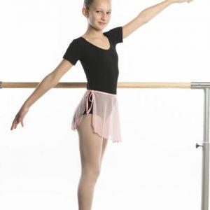 Falda ballet gasa elástica atada a la cintura con lazada