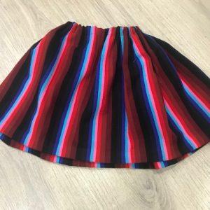 Refajo listas colores para niña que podrás combinar con cualquier delantal de huertana o pico de huertana de color