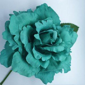 Flor flamenca Lucia grande con petalos rajados espectacular para tus trajes de flamenca