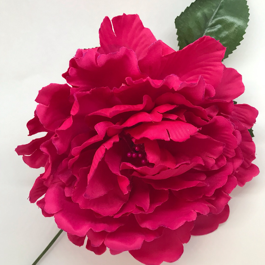 Flor flamenca grande con pistilos 243