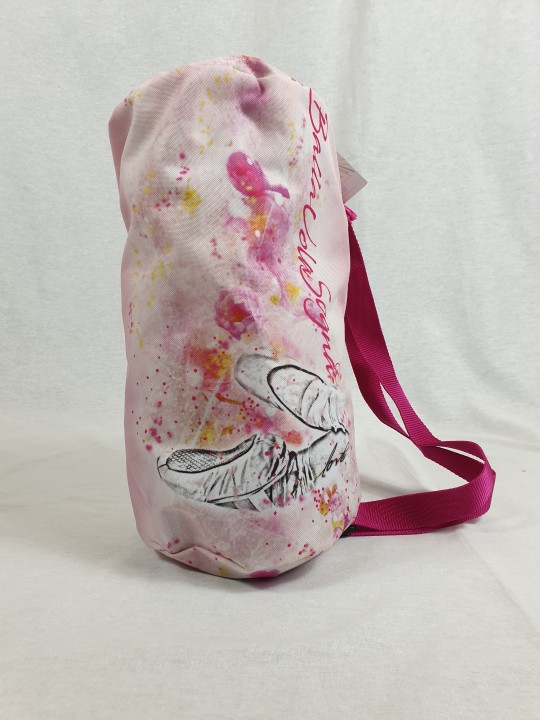 Macuto ballet zapatillas en tonos rosas y fucsia