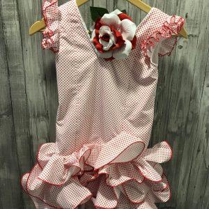 Traje flamenca niña